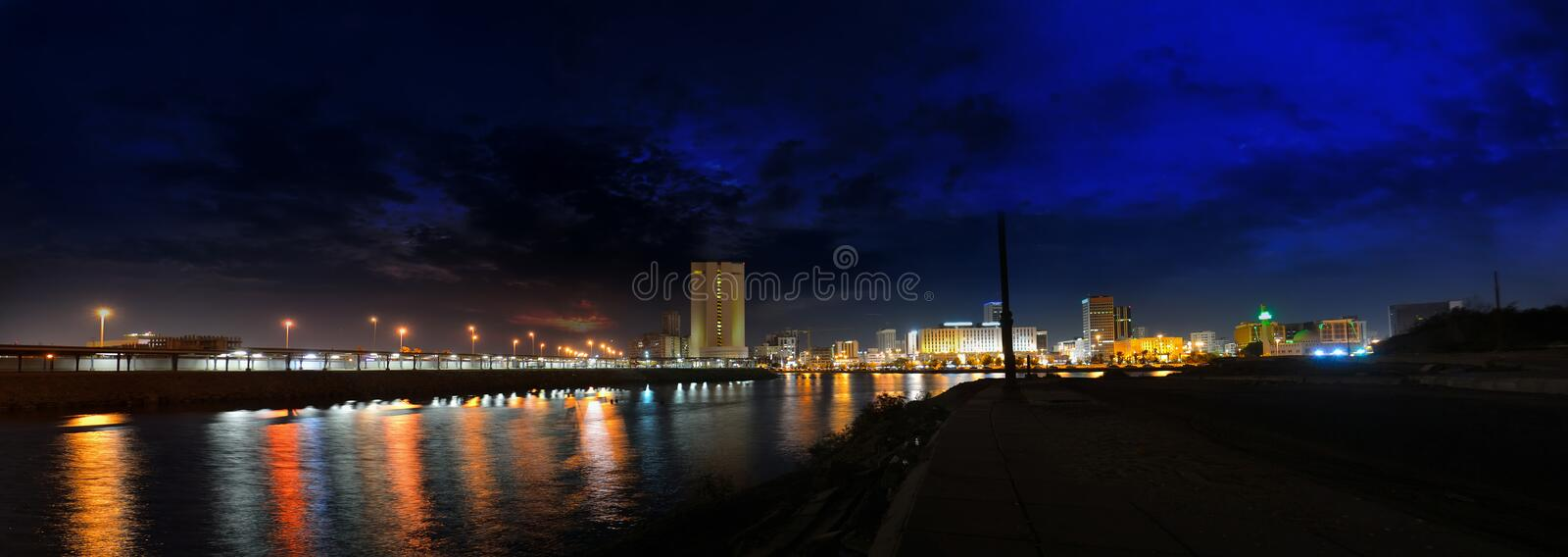 COMMERCIAL CENTER OF JEDDAH royalty free stock image