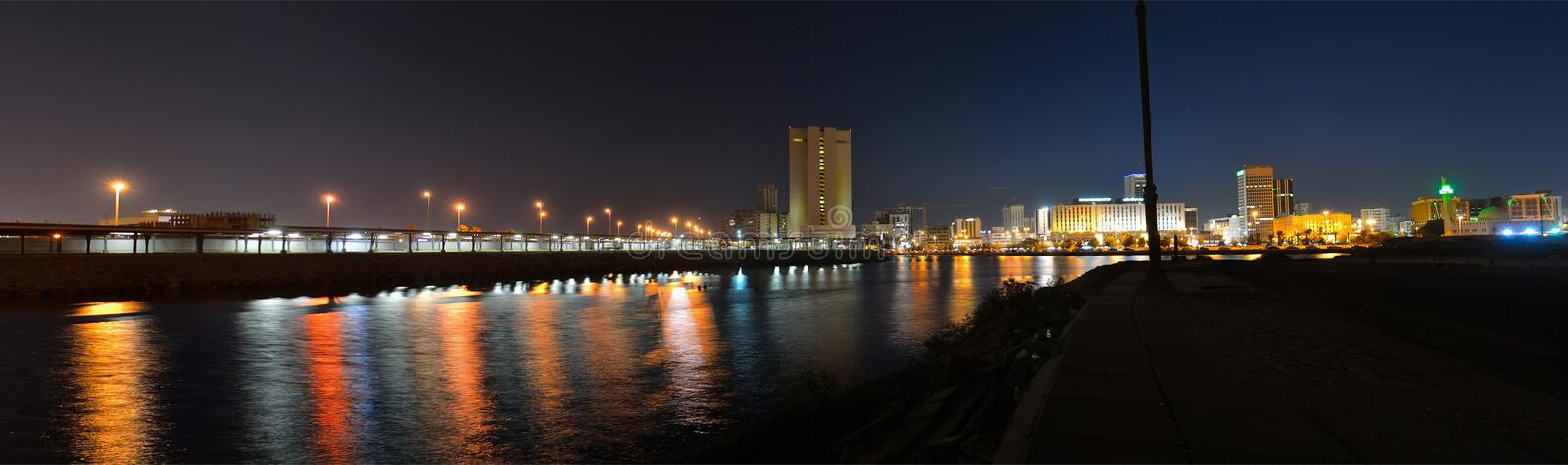 COMMERCIAL CENTER OF JEDDAH stock images