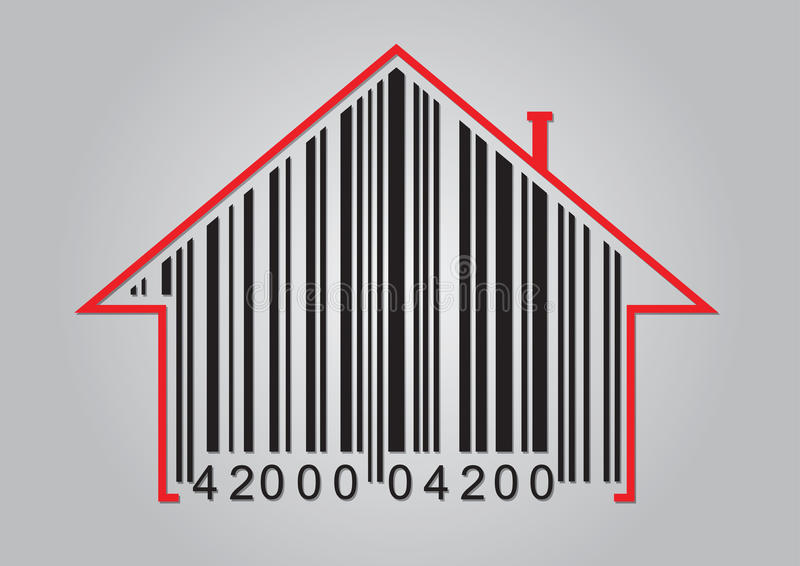 Download Commercial Concept With Barcode Stock Vector - Image: 25626373