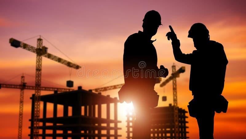 Commercial Construction Concept stock photos