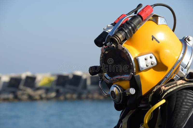 Commercial diving stock images