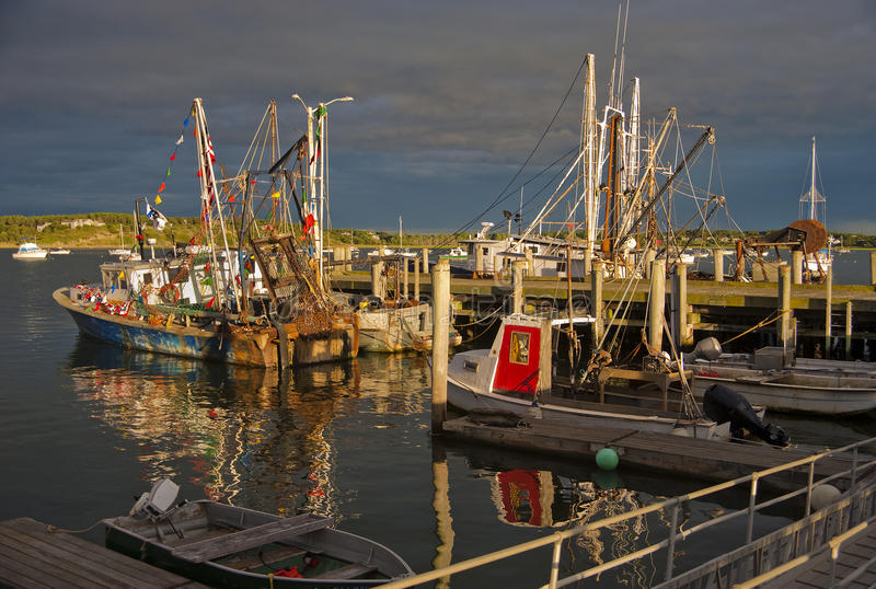 Commercial Fishing Boats Royalty Free Stock Photo