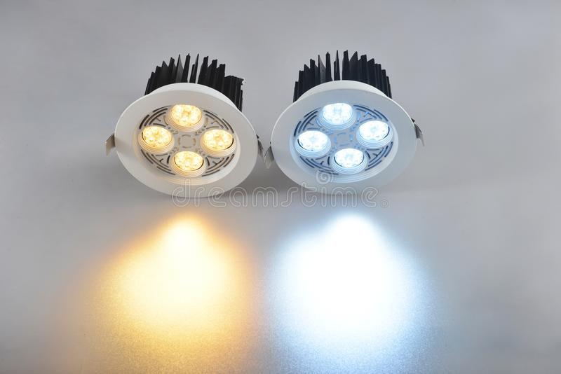 Commercial led lamp beam royalty free stock images