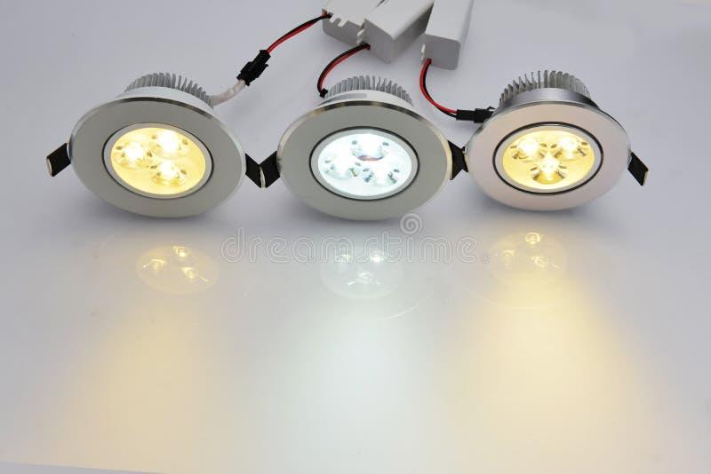 Commercial led lamp stock illustration