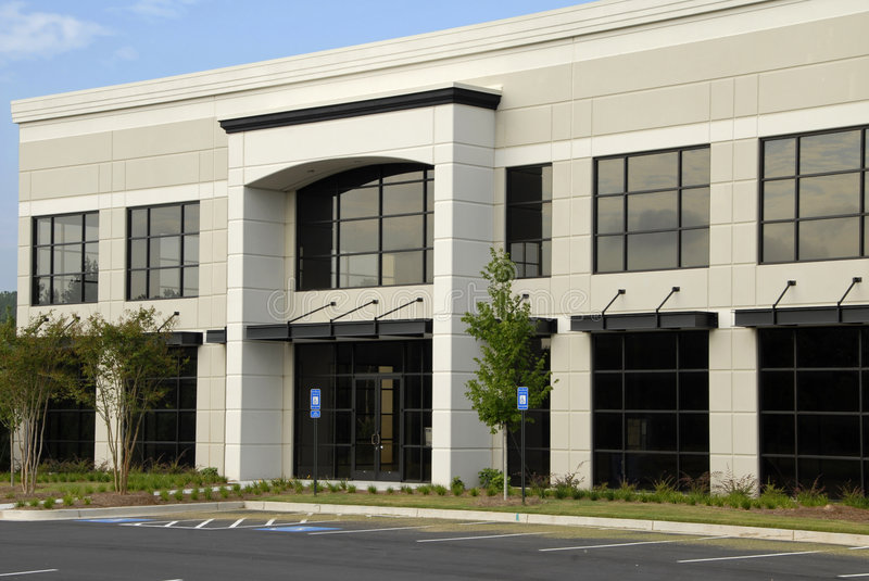Commercial Office Building stock photography