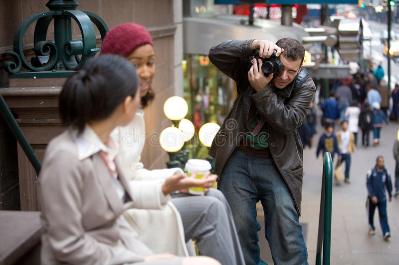 Commercial Photographer Royalty Free Stock Photo