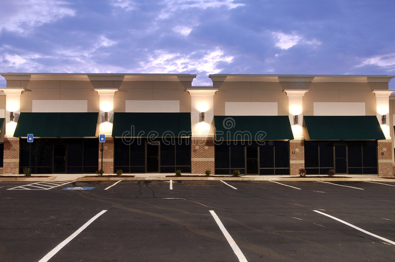 Download Commercial Space for Lease stock image. Image of retail - 2386773