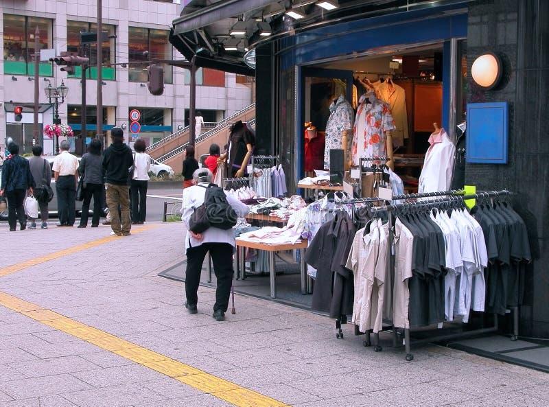 Commercial street stock photos