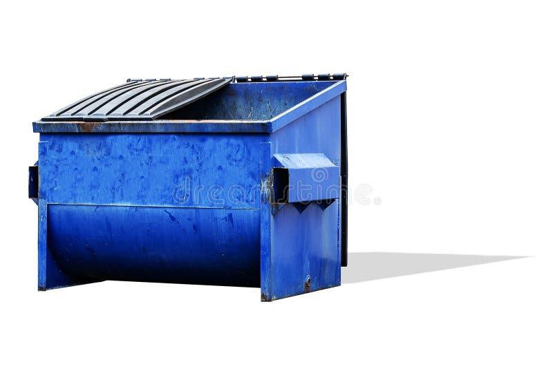 Commercial Trash Bin, Dumpster. Commercial - industrial trash bin, dumpster isolated stock photos
