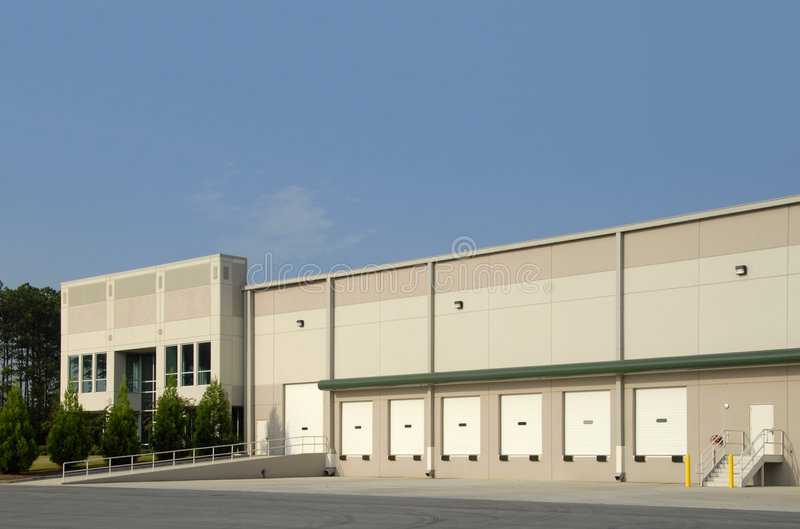 Commercial Warehouse royalty free stock images