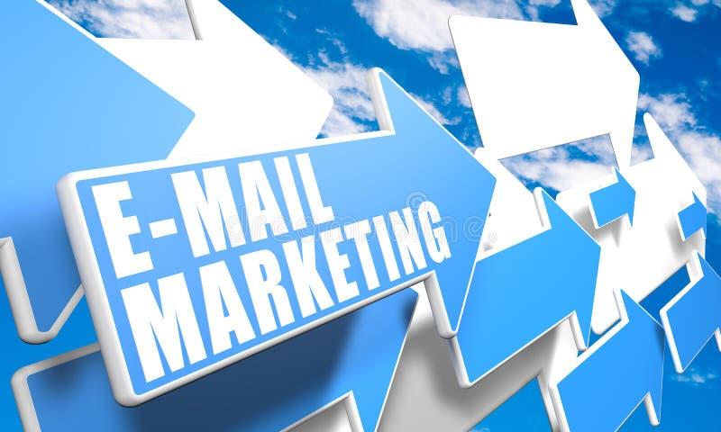 Commercialisation d'email photos libres de droits