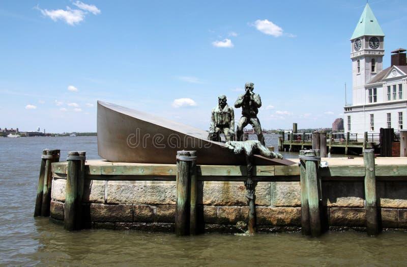 Commerciante americano Mariners Memorial immagini stock libere da diritti