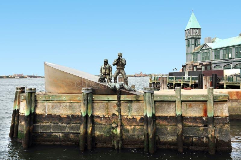 Commerciante americano Mariners Memorial immagine stock
