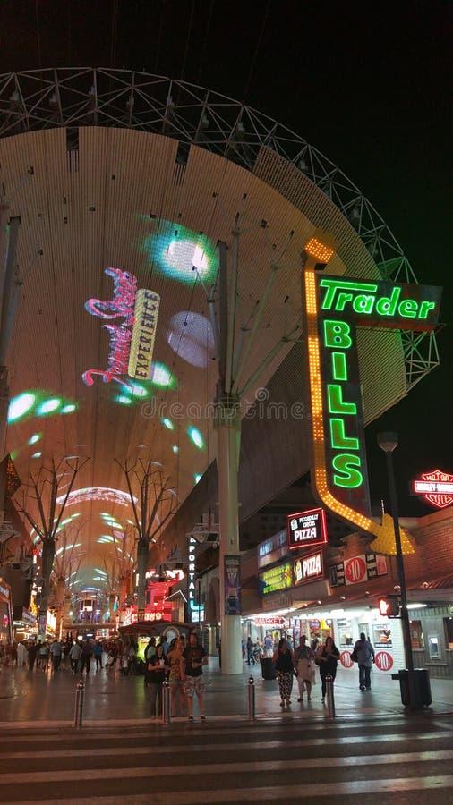 Commerciante Bills, Las Vegas immagine stock libera da diritti