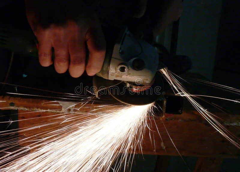 Commerciante di ferramenta, spirale fotografia stock