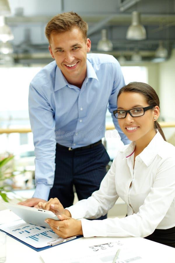 Commercieel agentschap stock afbeelding