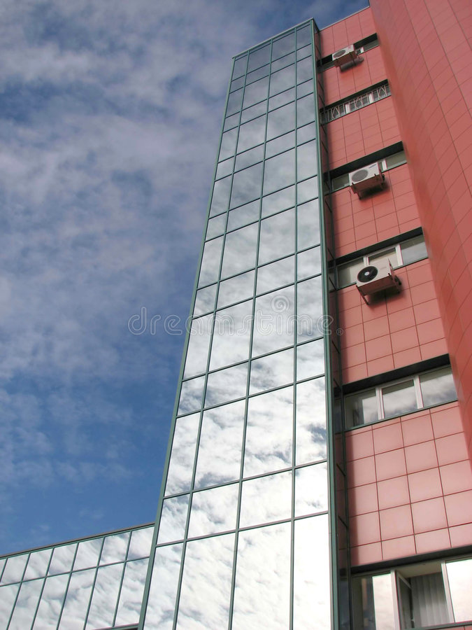 Commercieel centrum royalty-vrije stock fotografie