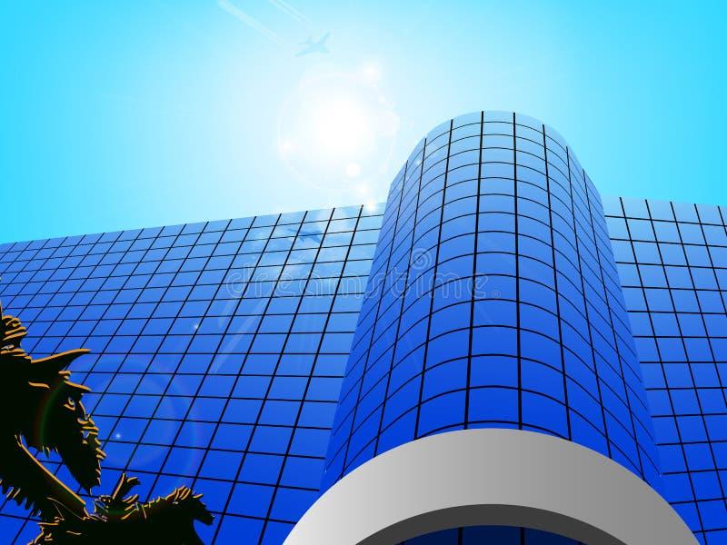 Commercieel centrum Vector illustratie stock illustratie