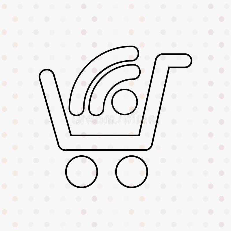 commercieel markeringenontwerp vector illustratie