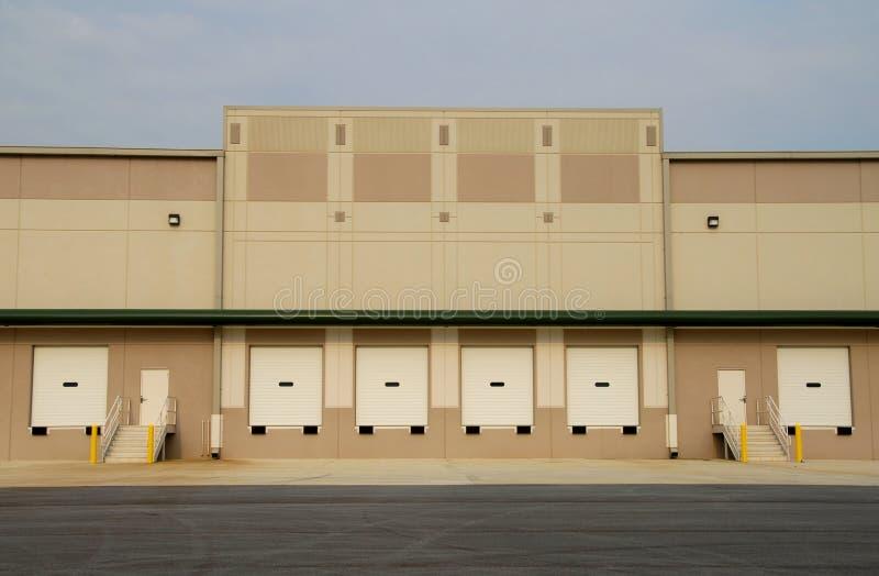 Commercieel Pakhuis royalty-vrije stock foto