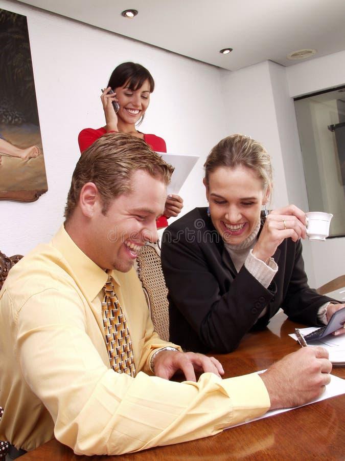 Commercieel team. stock afbeeldingen