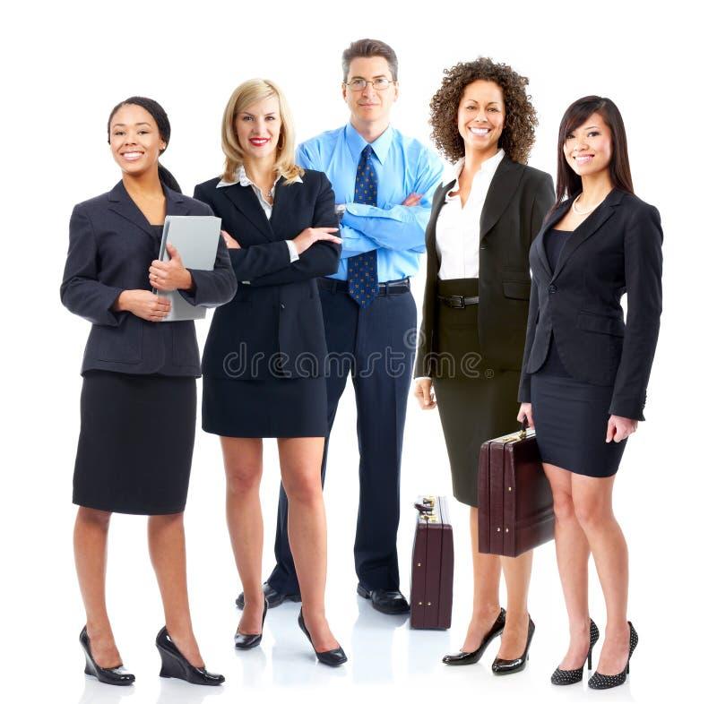 Commercieel team. royalty-vrije stock afbeeldingen