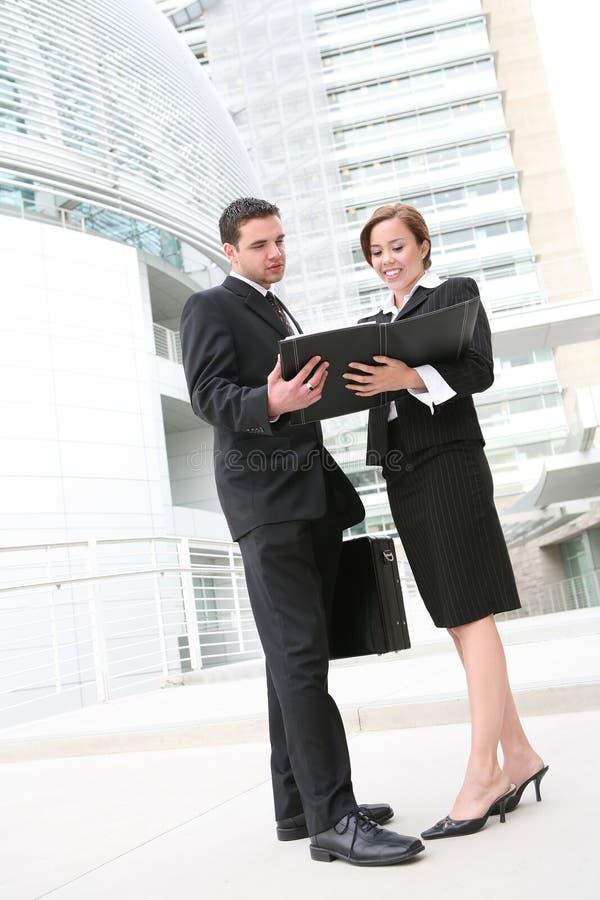 Commercieel Team royalty-vrije stock foto's