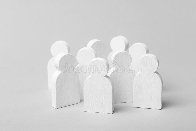 Commercieel team of groep mensen, de menigte royalty-vrije stock fotografie