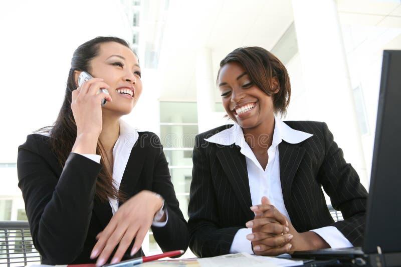 Commercieel van vrouwen Team stock afbeeldingen