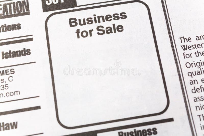 Commercio da vendere immagini stock