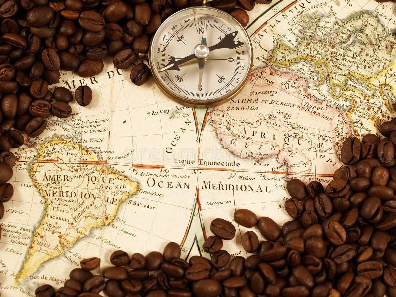Commercio del caffè fotografia stock