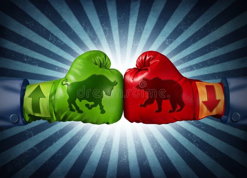 Commercio del mercato azionario illustrazione di stock