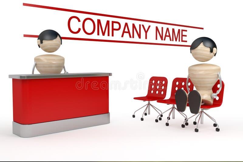 Commercio dell'azienda illustrazione di stock