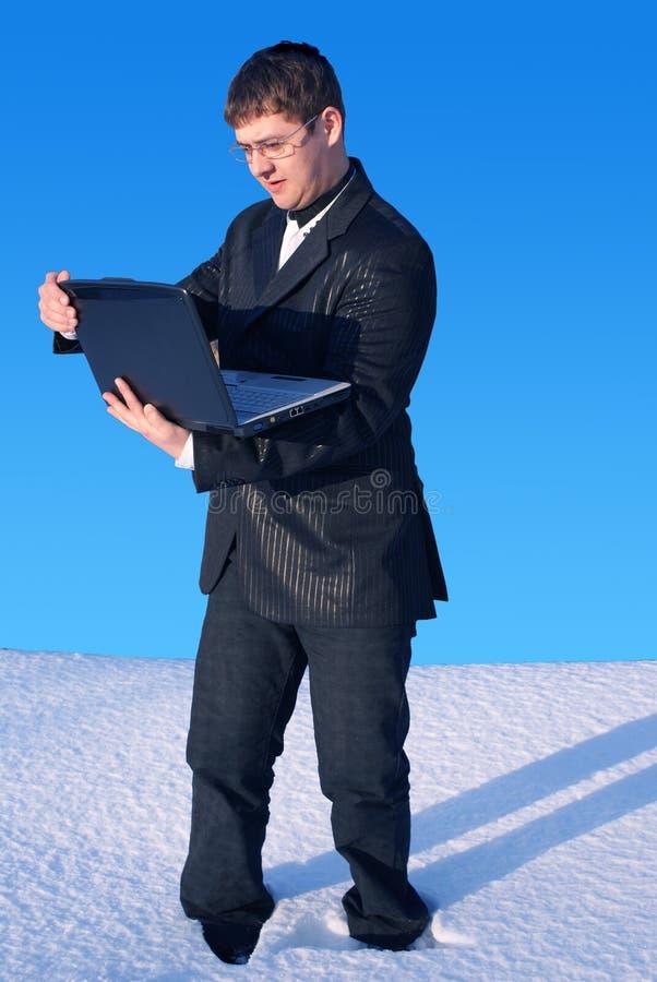 Commercio della neve immagini stock libere da diritti