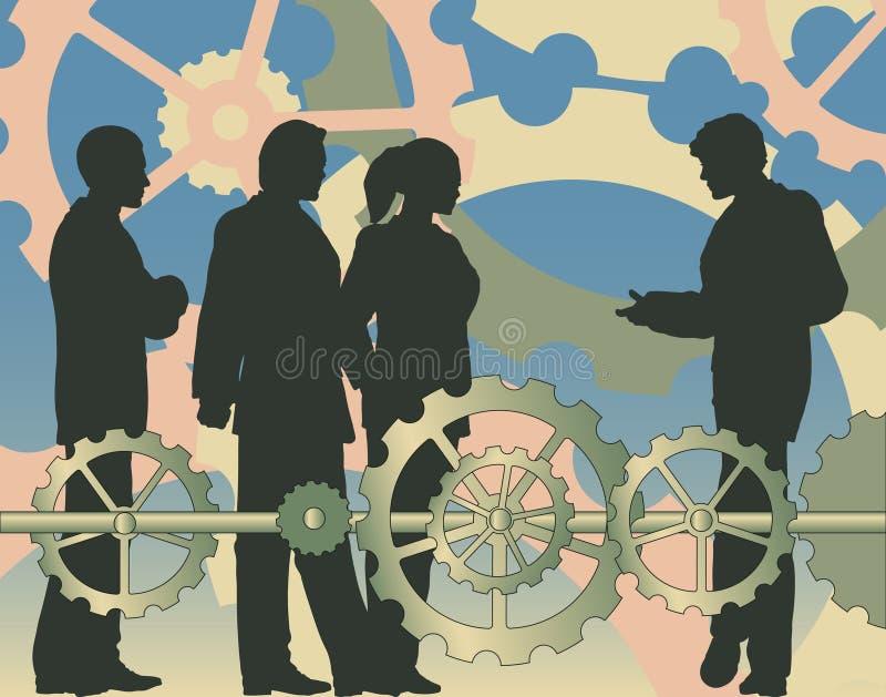 Commercio di industria illustrazione vettoriale