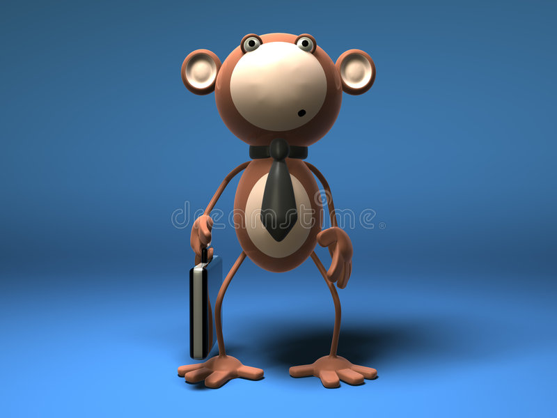 Download Commercio di scimmia illustrazione di stock. Illustrazione di mammiferi - 3130634