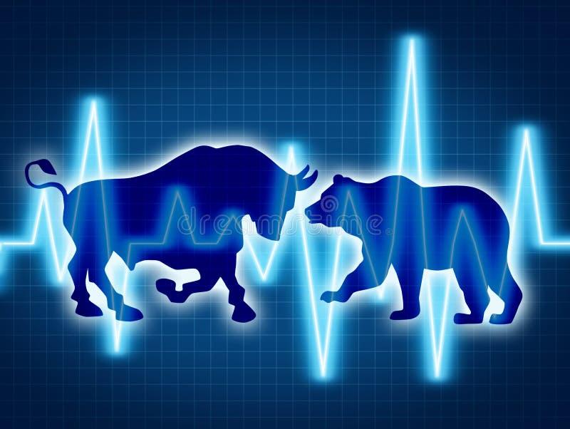 Commercio ed investire illustrazione vettoriale