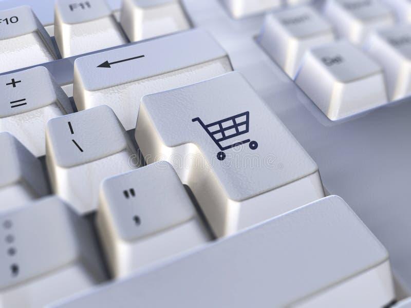 Commercio elettronico illustrazione di stock