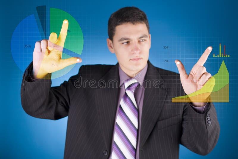 Commercio futuro immagini stock