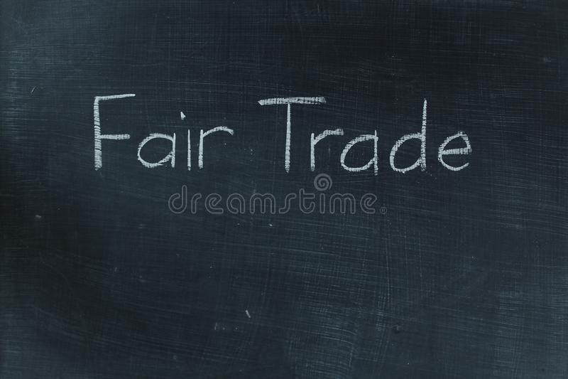 Commercio giusto immagine stock libera da diritti