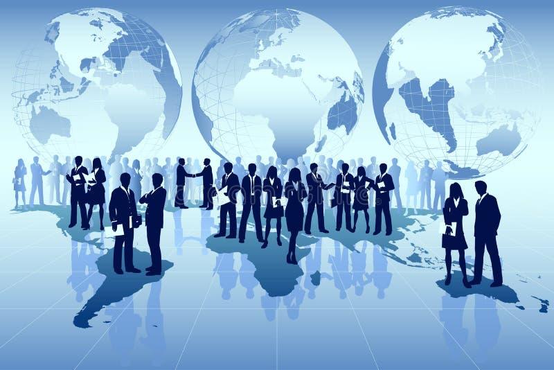 Commercio globale illustrazione di stock