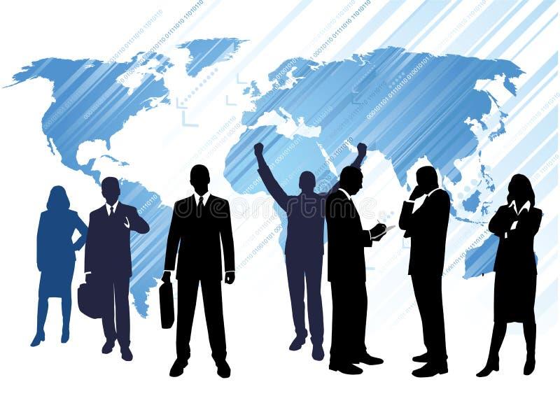 Commercio globale illustrazione vettoriale