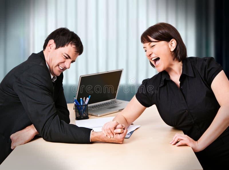 Commercio-rivalità 5 immagini stock libere da diritti