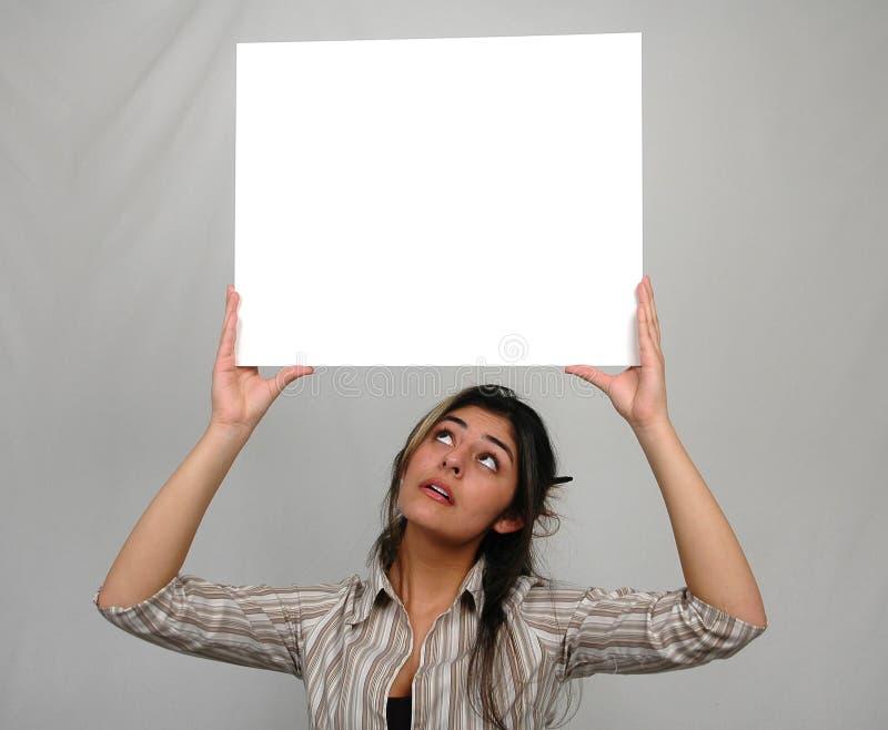 Commercio woman-7 immagini stock libere da diritti