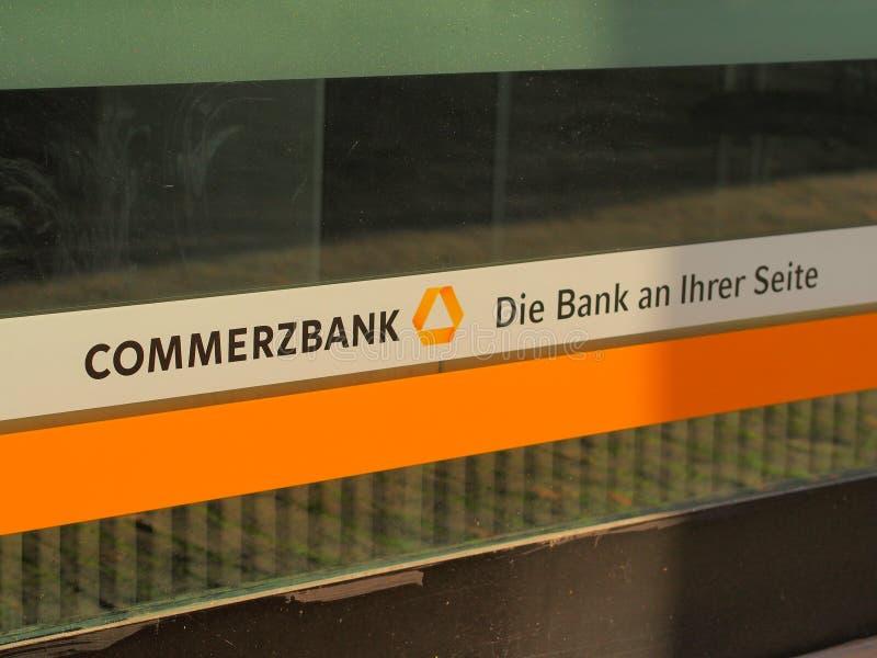 Commerzbank photo libre de droits