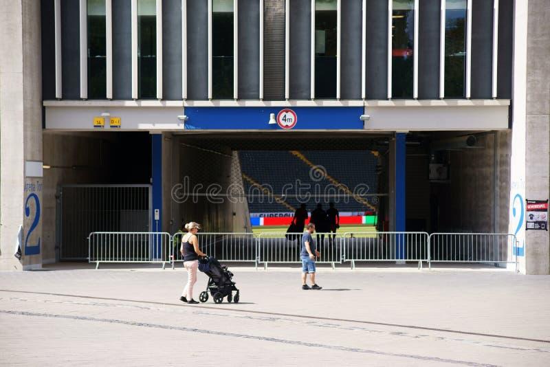 Commerzbank-Arena Frankfurt lizenzfreies stockfoto