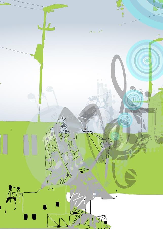 commincations muzyczni ilustracji