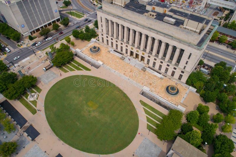 Commis de tribunal de district aérien de Nashville d'image photo libre de droits