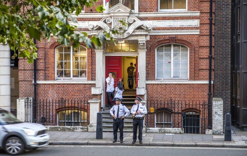 Commissariato di polizia di Londra immagine stock libera da diritti