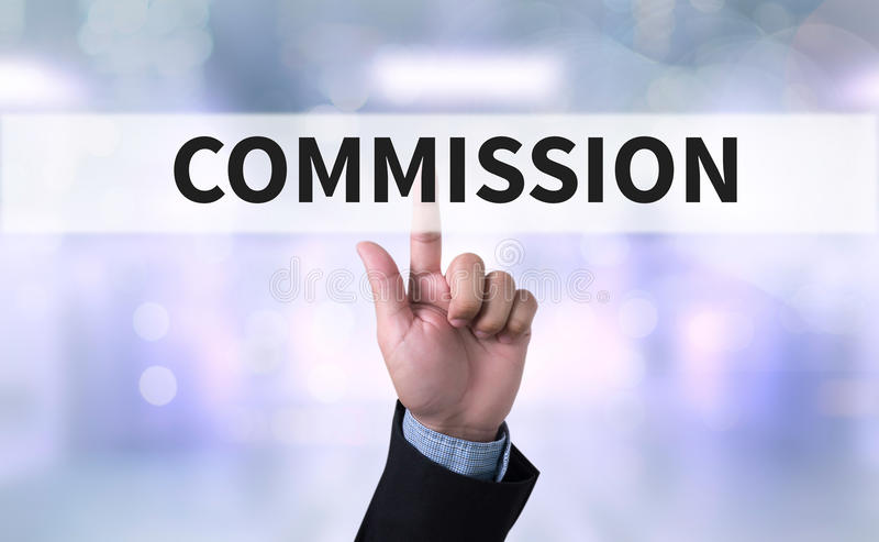 commission ilustração do vetor